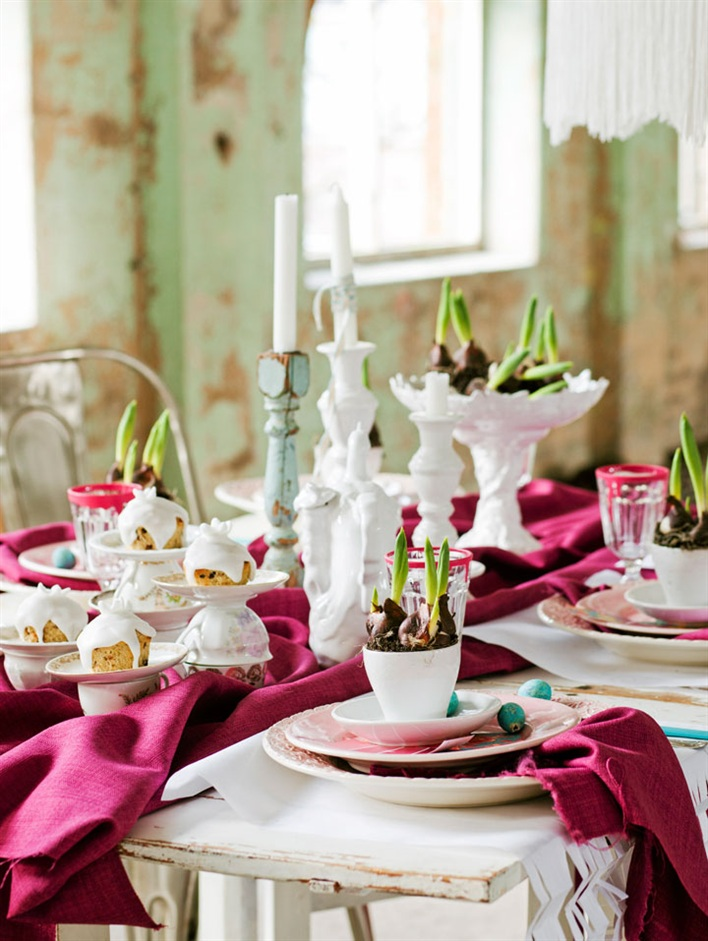 Bright Easter Table Decoration 79 Ideas