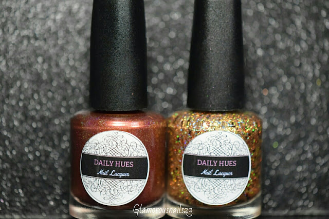 Daily Hues Nail Lacquer September/October Bi-Monthly Duo