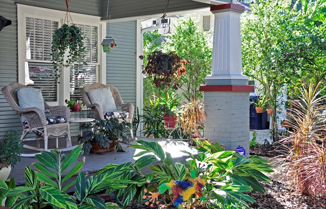 Florida Landscaping Ideas Front Porch
