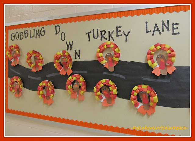 photo of: Turkeys on the Bulletin Board via RainbowsWithinReach