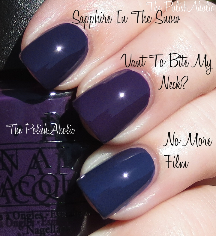The PolishAholic: Spring 2013 Comparisons: OPI, China Glaze, Zoya & Orly