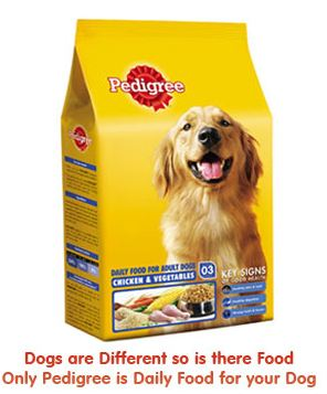 Free Pedigree Dog Food