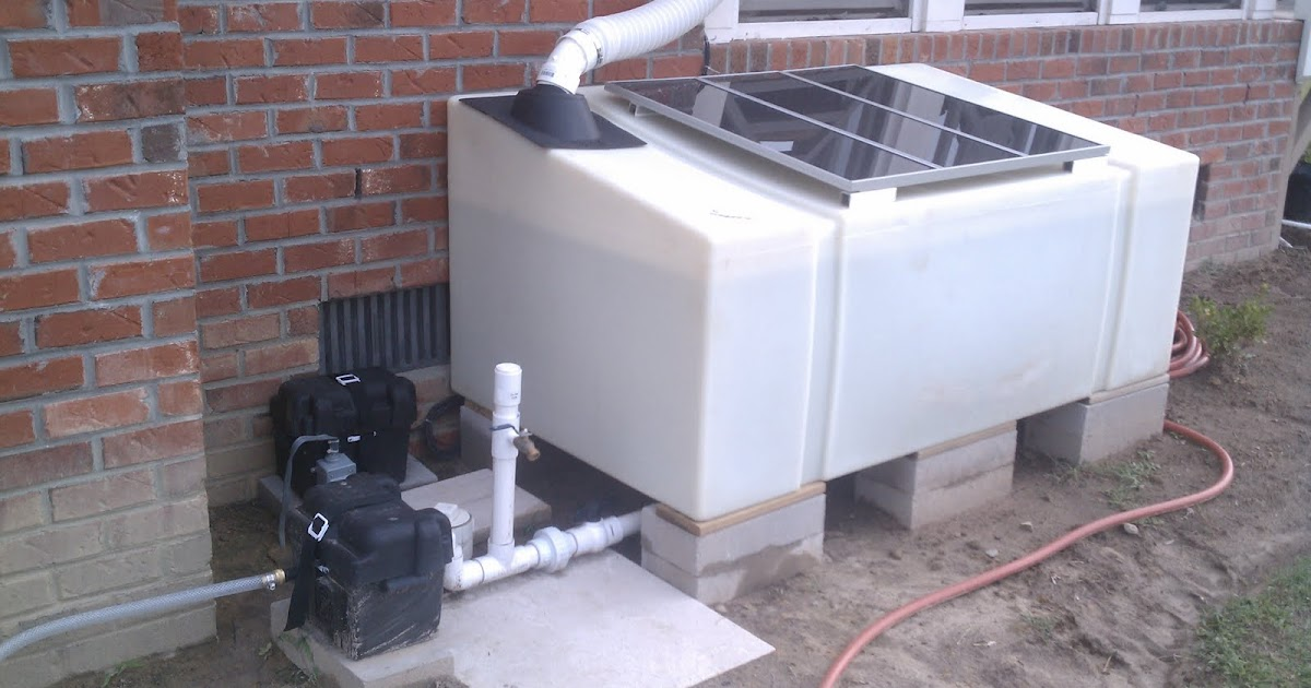 Building a High Pressure Solar Powered Rainwater Irrigation System