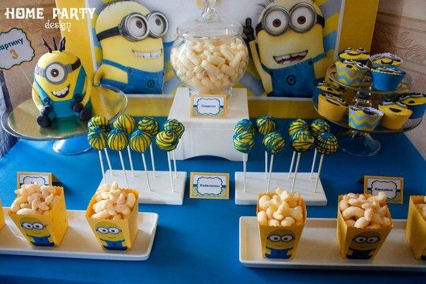 Minions Decoracion Para Fiestas ~ Ideas para decorar tu fiesta con Minions ~ Mi fiesta inolvidable