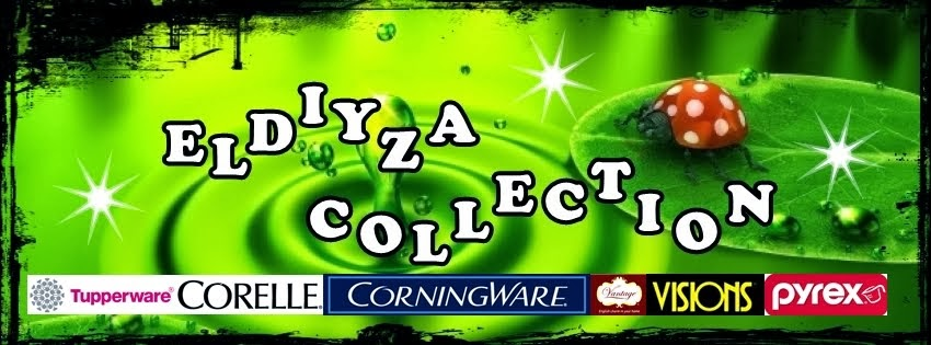 ELDIYZA COLLECTION TUPPERWARE CONINGWARE CORELLE VISION VANTAGE