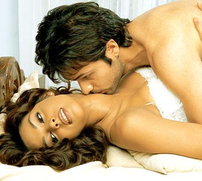 Mallika Sherawat Hot Kiss