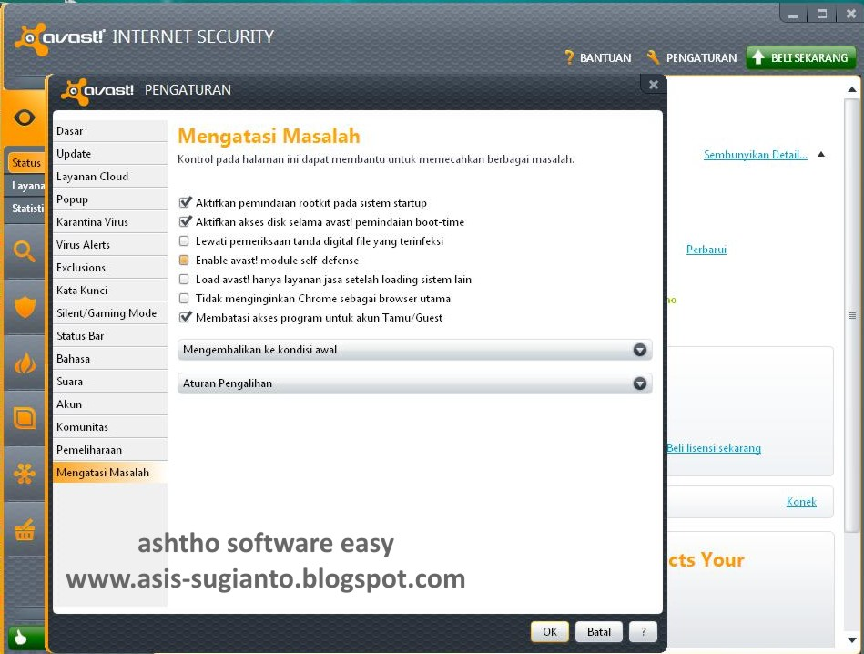 Crack Avast Internet Security 7 untill 2050