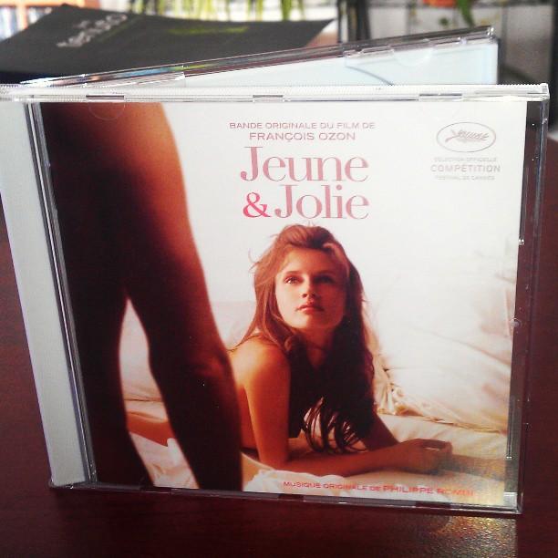 Jeune et jolie de François Ozon bande originale du film cd
