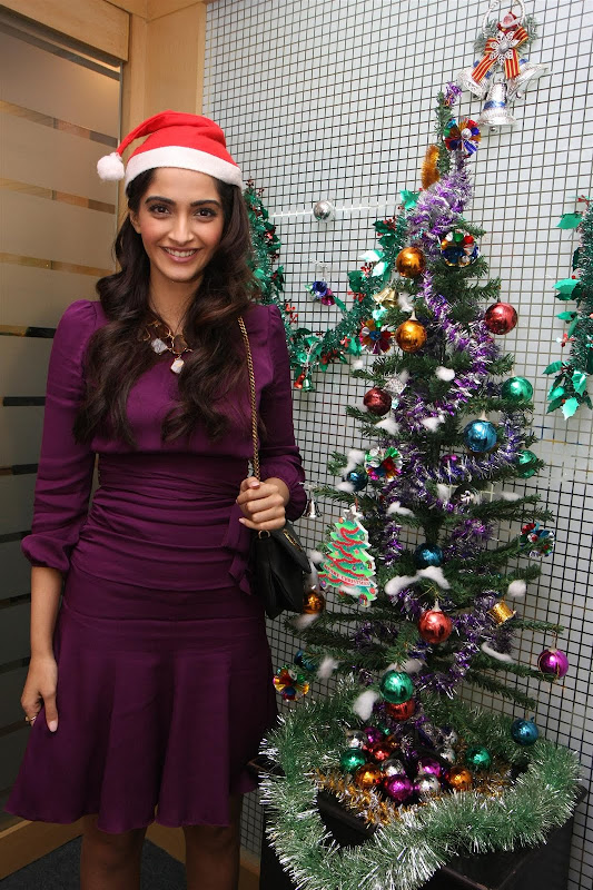 Sonam Kapoor Photoshoot for Christmas Event cinema gallery