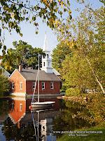 Library on Harrisville Pond, Harrisville New Hampshire