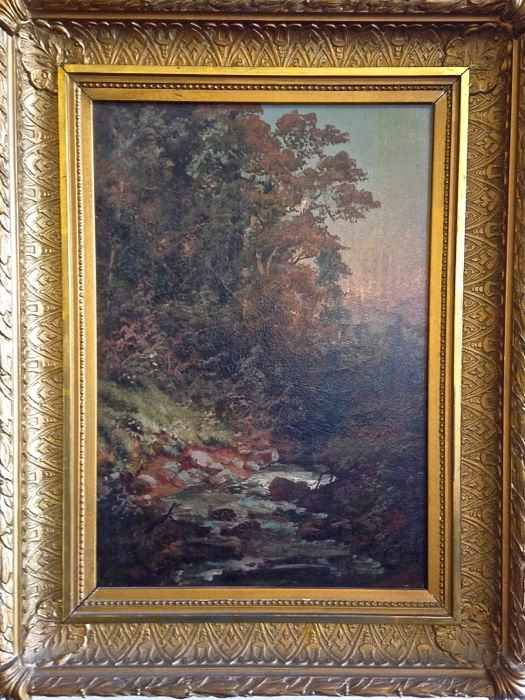 Hudson River School Oil Painting at The Picked Hutch