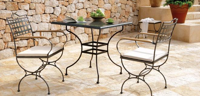 Rustik chateaux 8 modelos de muebles de hierro para el for Muebles de jardin de hierro forjado