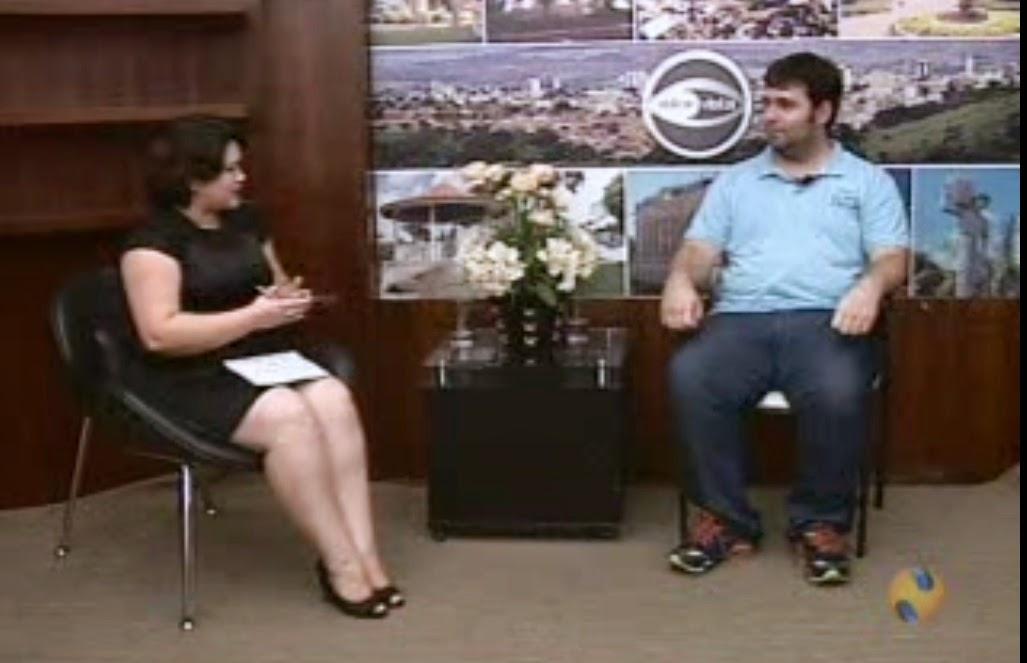 Entrevista - Esequias Caetano fala sobre Penitências para a NTV 1