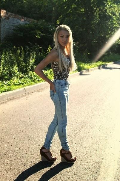 Anastasia Russian Amateur Teen Fashion Models: Beautiful