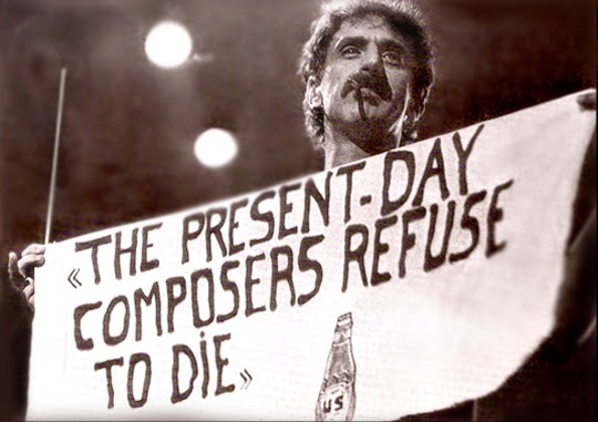 Image result for frank scheffer zappa documentary the present day composer refuses to die
