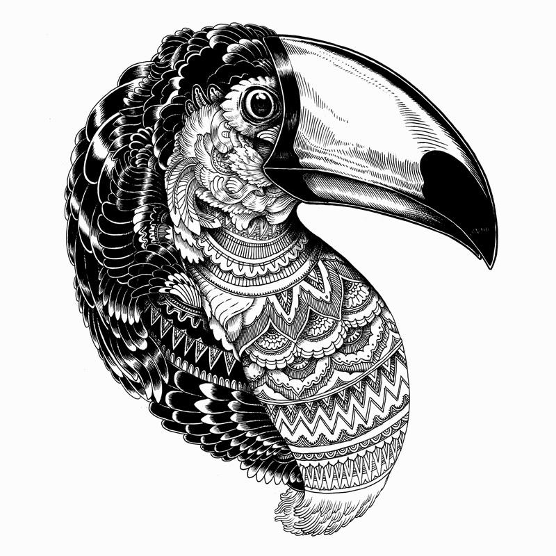 Swindon United Kingdom Artist Iain Macarthur Creates These Gorgeous