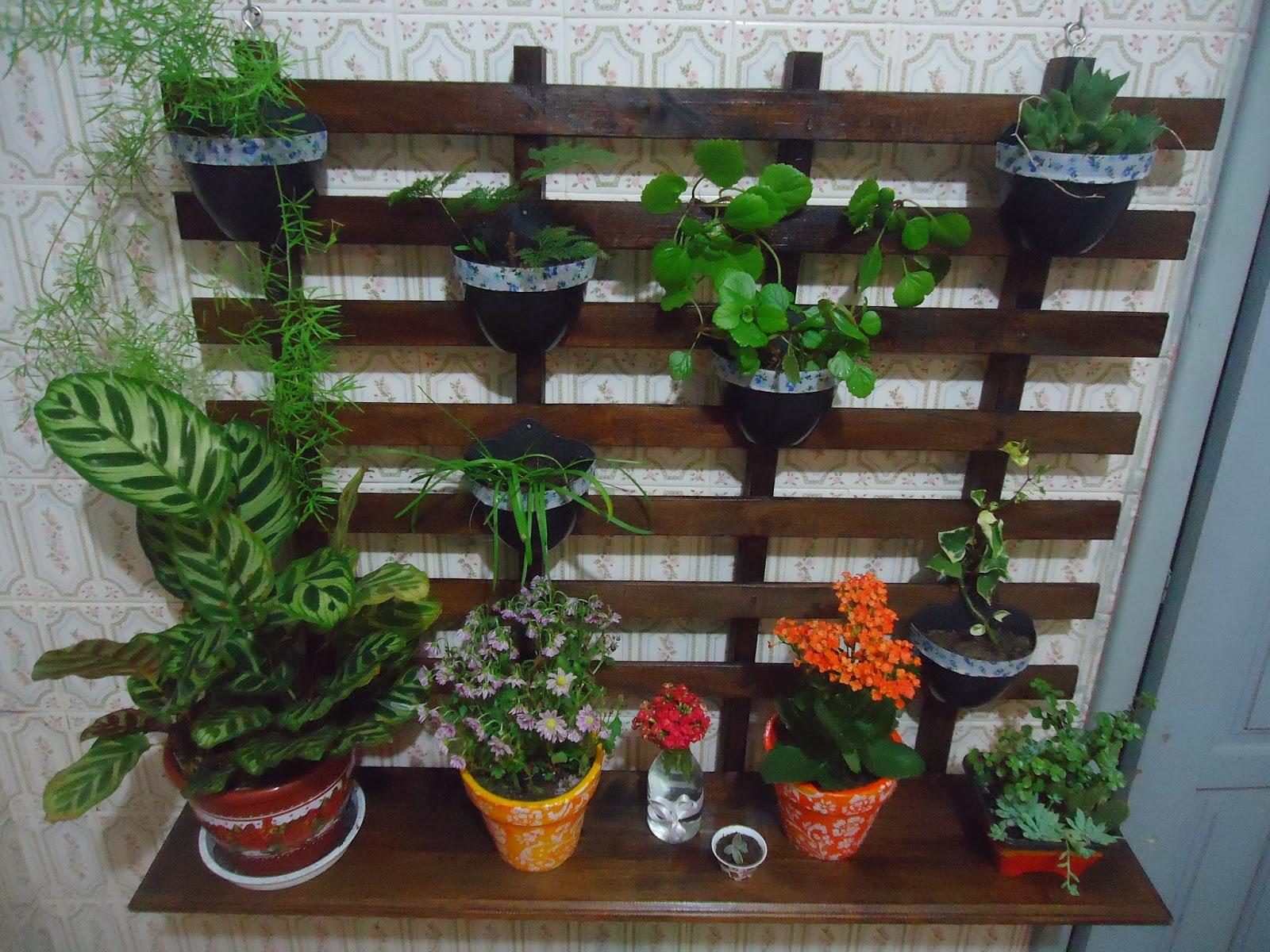 ArteCasa - Mari Rodrigues: Fazendo um Jardim Vertical ...