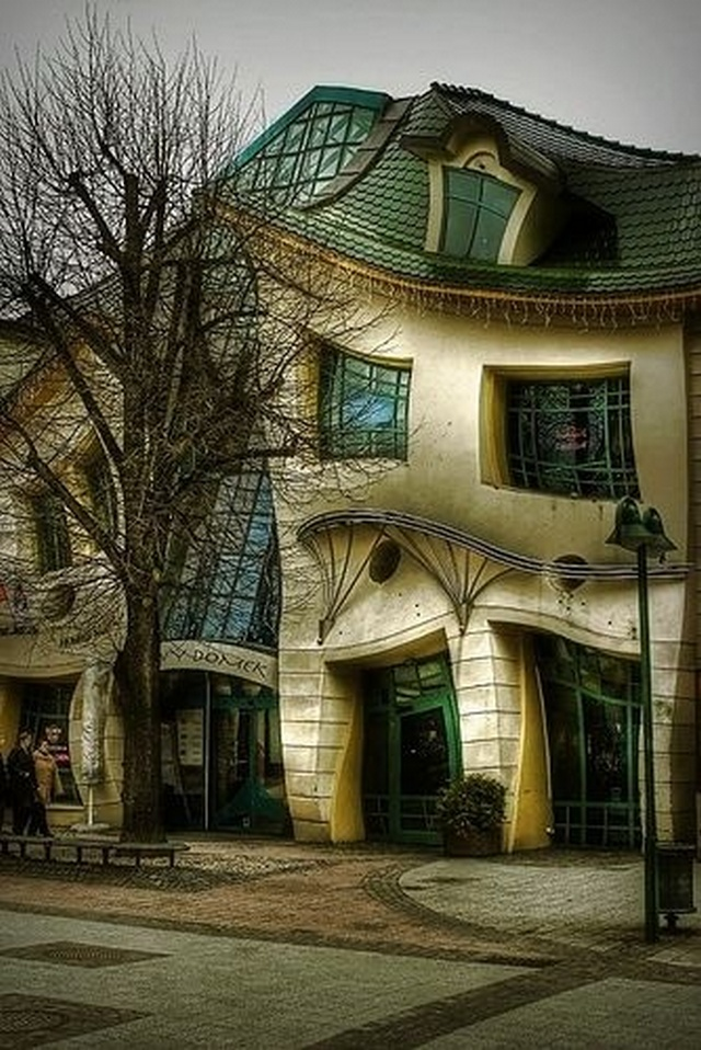 Crooked house, Sopot Poland