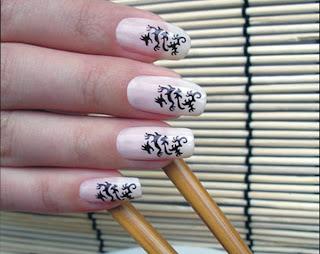 Dragon Nail Art Design Nailic