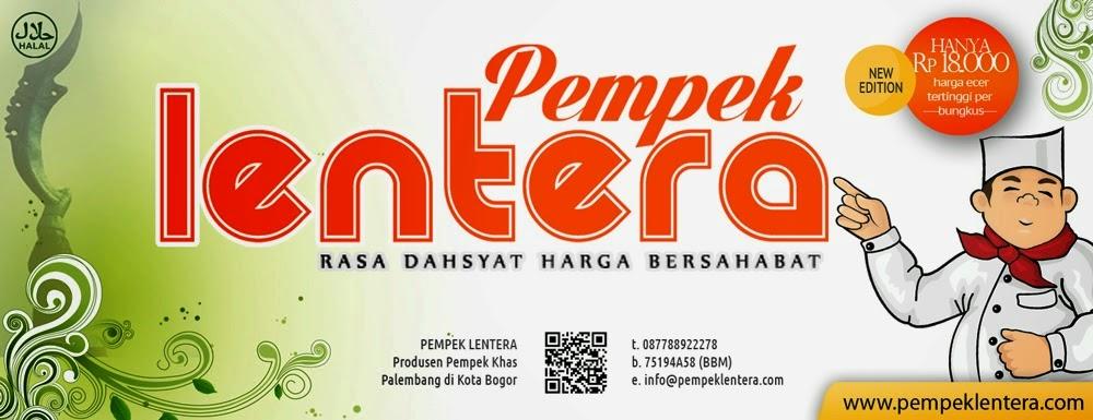 Label Pempek Lentera Bogor
