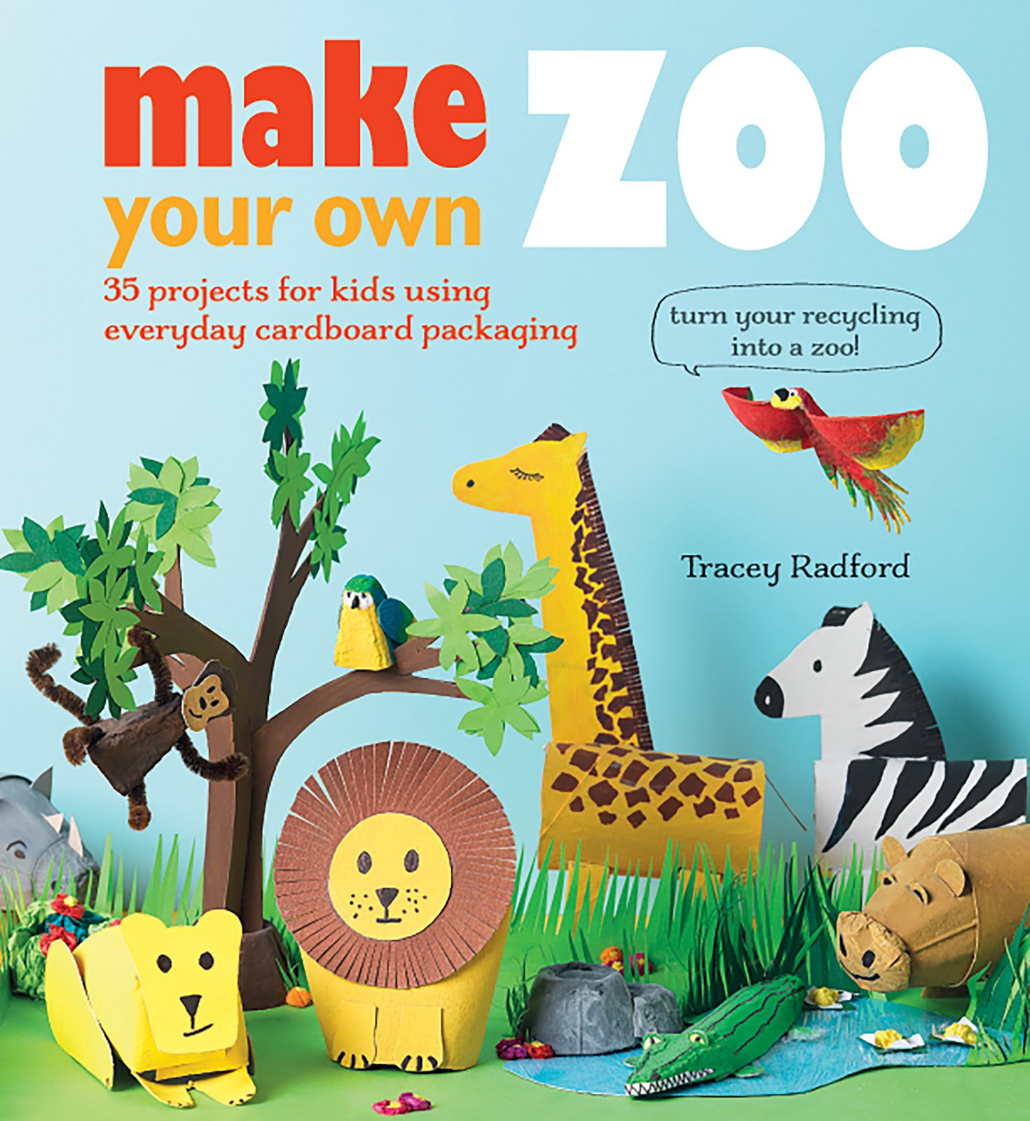 Turn your recycling into a zoo!