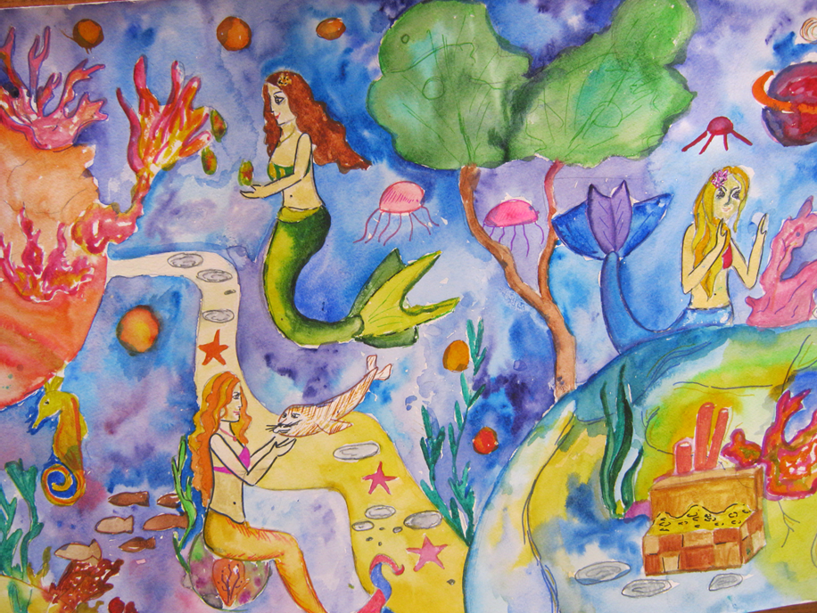 Фото рисунков на детский конкурс рисунков