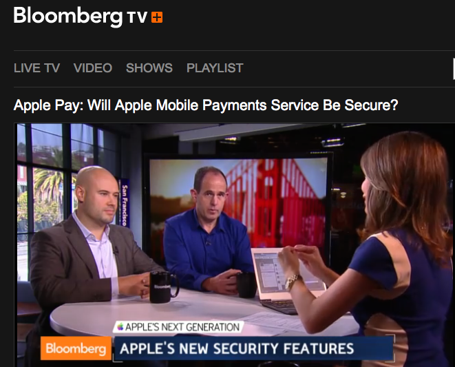 http://www.bloomberg.com/video/apple-iphone-mobile-payments-service-will-it-be-secure-jmrFPfBWSf2~xqeD3LKP7g.html