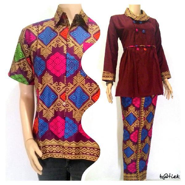 Baju Gamis Batik Pasangan Muslim Jual Baju Batik
