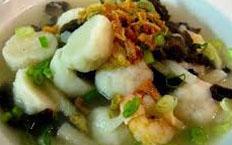 resep masakan indonesia tekwan palembang spesial lezat, gurih, nikmat