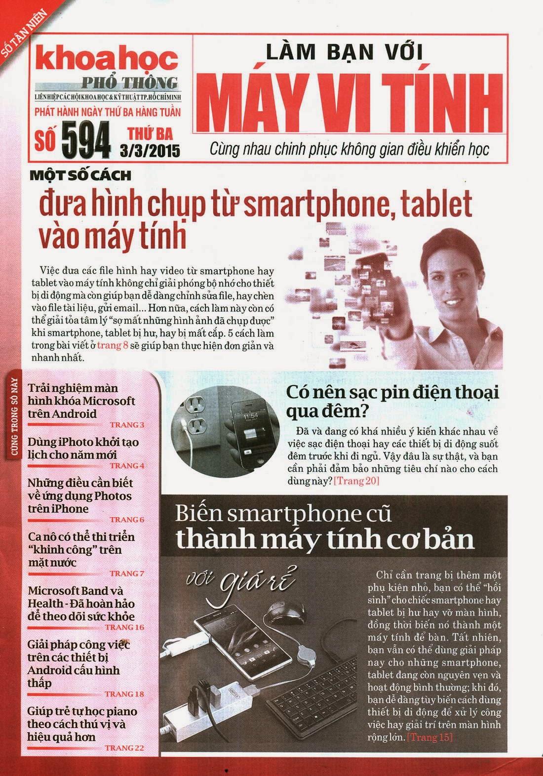 Làm Bạn Với Máy Vi Tính – 594 - tapchicntt.com