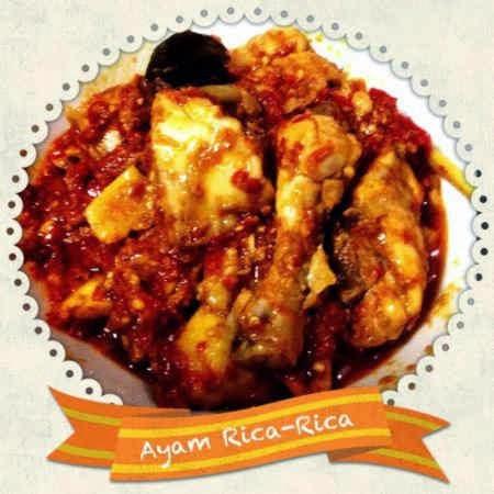 Resep Ayam Rica Rica Kering