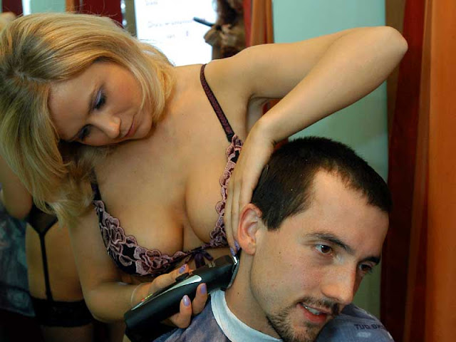 """Search Results for """"Women In Barber Shop For Haircut"""" – Black ..."""