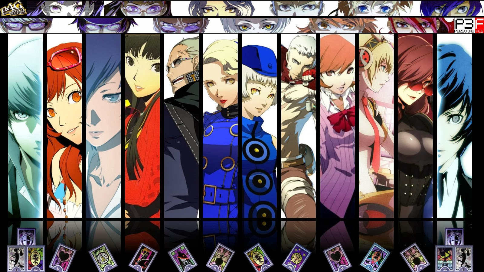 Featured Wallpaper Persona 3 And 4