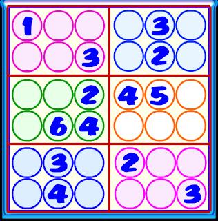 Sudoku, Sudoku 6x6, Sudoku para principiantes, Sudoku para niños