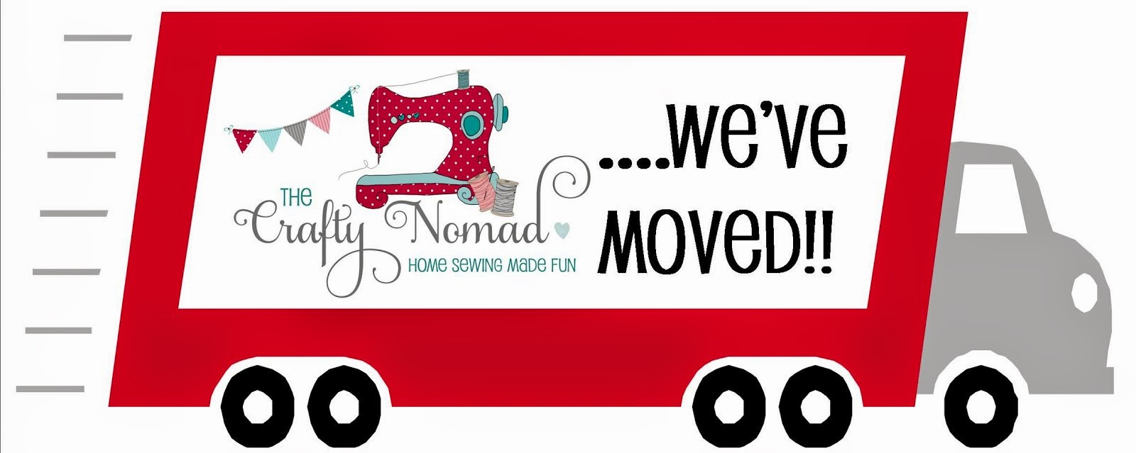 The Crafty Nomad Has Moved