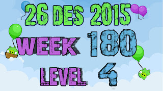Angry Birds Friends Tournament level 4 Week 180