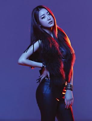 Dal Shabet Woohee Ah Young Jiyul Gaeun Serri Subin HIM Magazine 2013