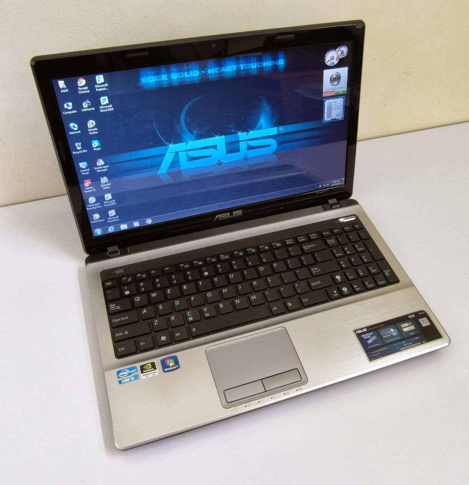 Three A Tech Computer Sales And Services Used Laptop Asus A53s Core