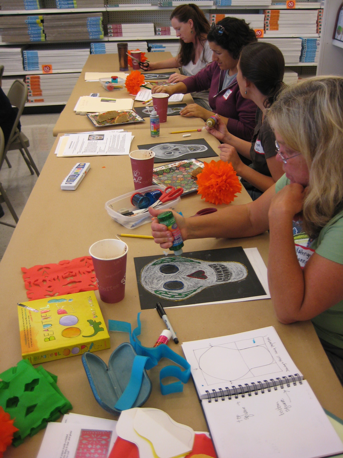 Teacher Workshop Day Of The Dead Projects