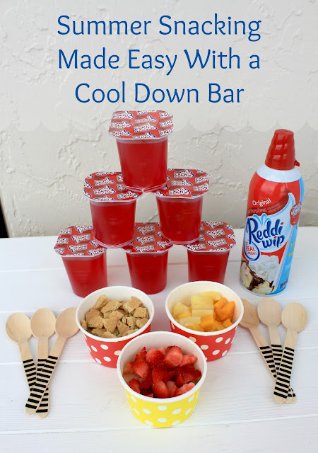 Summer Snacking Made Easy with a Cool Down Bar! #SnackPackMixIns #ad
