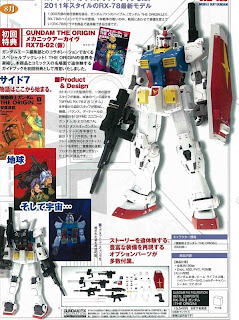 G.F.F. Metal Composite RX78-02 Gundam The Origin