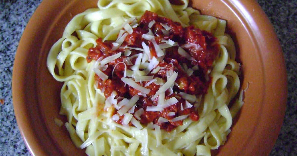 Cocina novata para novatos fideos con tuco para llegar a fin de mes - Cocina para novatos ...