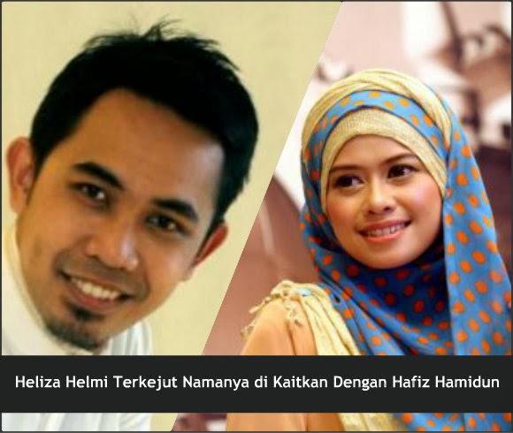 Heliza Helmi Terkejut di Kaitkan Dengan Hafiz Hamidun
