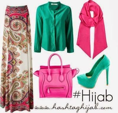 Hijab d'été - hijab style