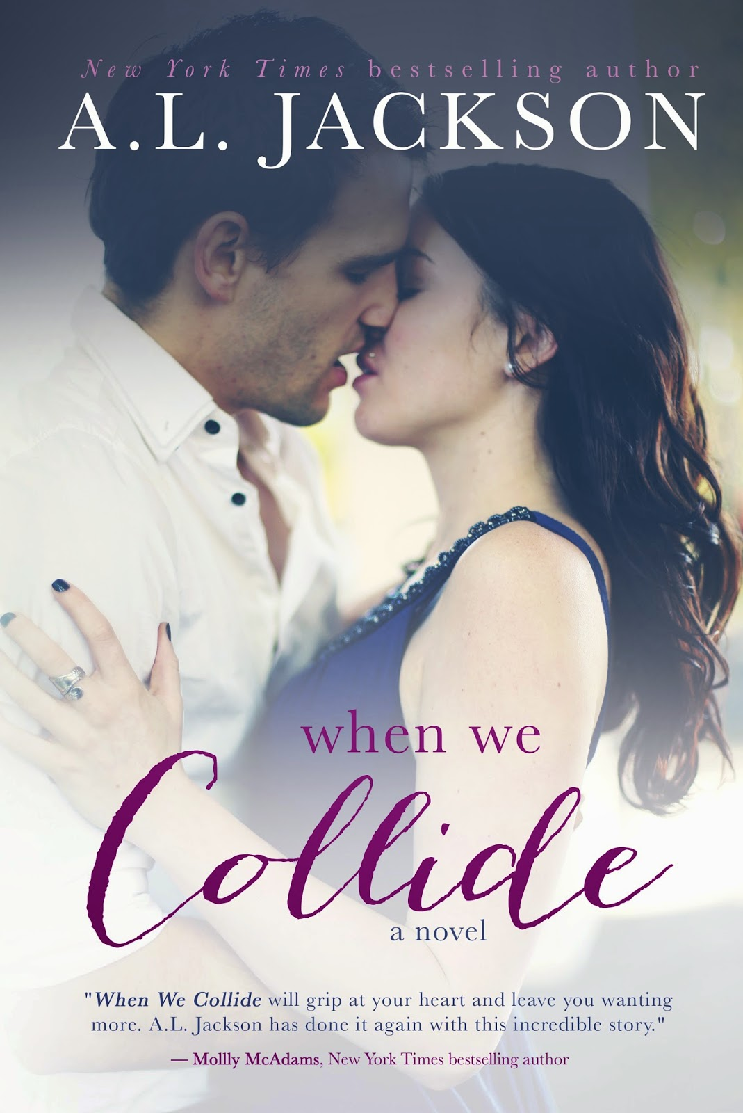 when we collide book cover