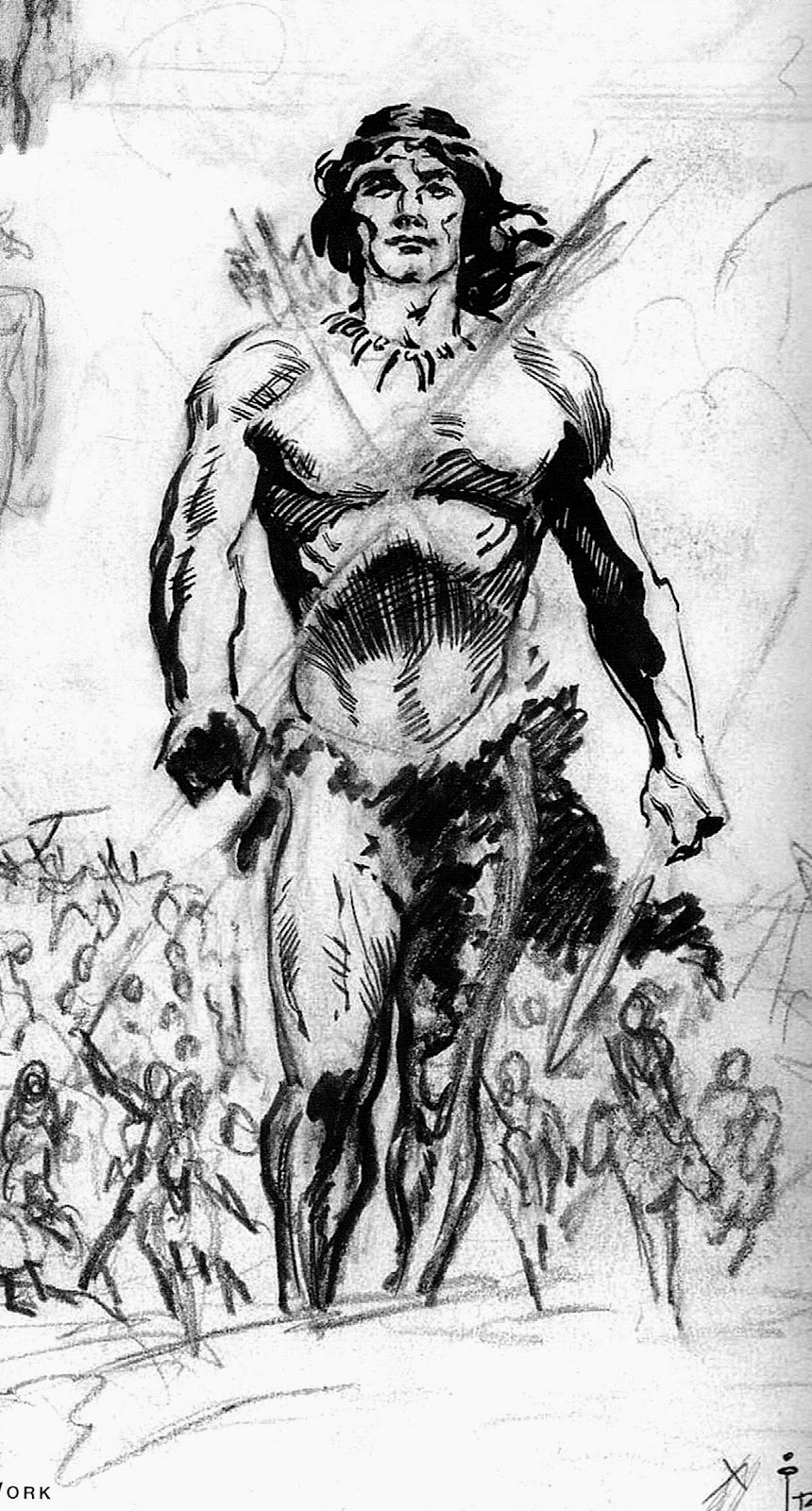 Cap'n's Comics: Some Rough Stuff by Frazetta