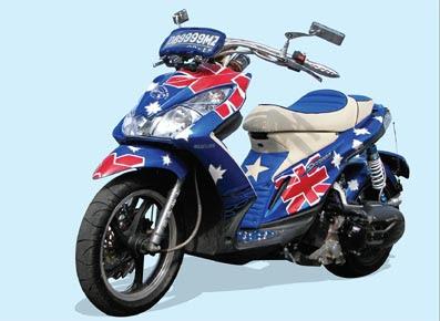 2010-Suzuki-Skydrive-Airbrush