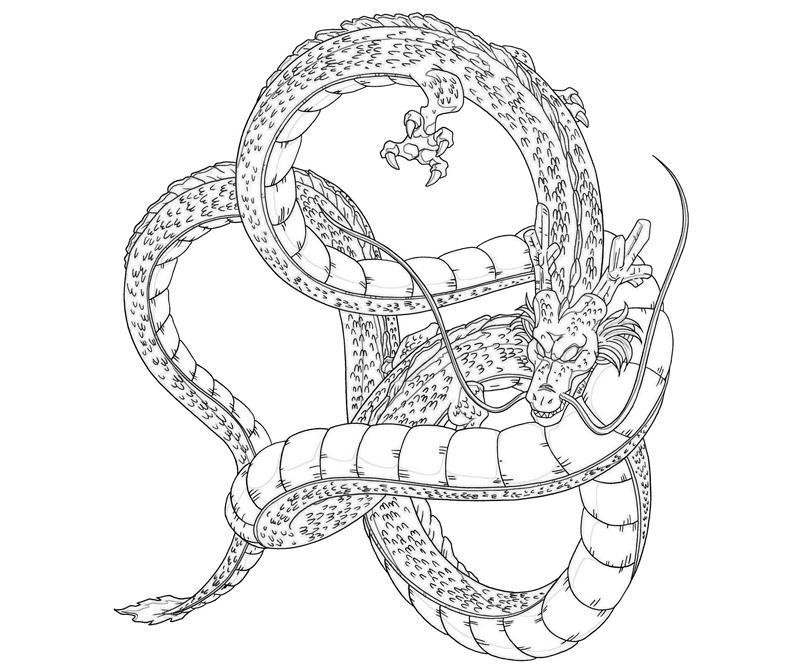 shenron-character-coloring-pages