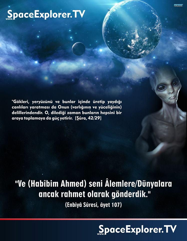 """Kur'an-ı Kerim'de """"uzaylılar"""" var mı?"""