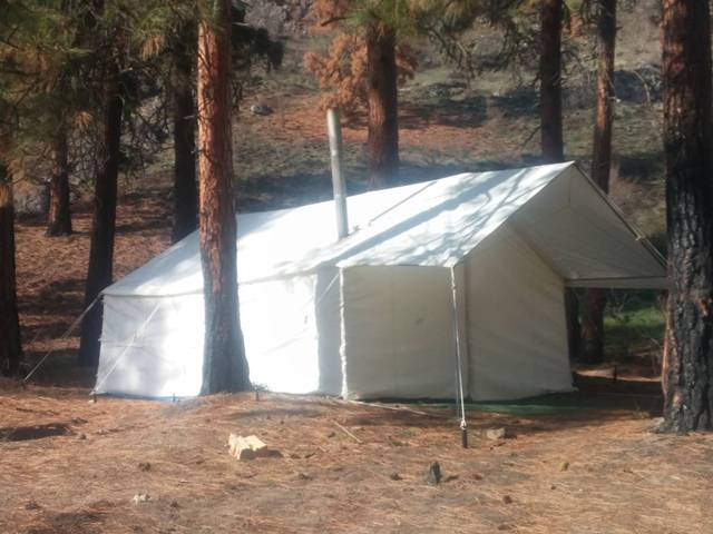 Second most canvas wall tents are custom made. The customer contacts the store and says u201cI want 2 screened windows on the left side and an awning in the ... & Elk Mountain Tents: Why Are Canvas Wall Tents so Expensive?